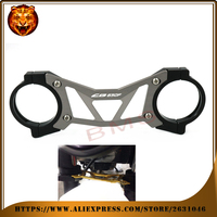 Motorcycle Accessories Aluminum BAlANCE Foreshock FRONT FORK BRACE For HONDA CB650F CB650 2014 2016 Free Shipping