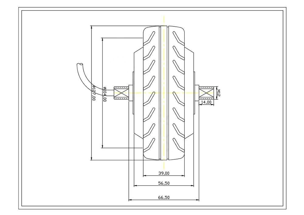 5inch double shaft hub motor disgram_00