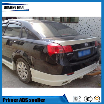High quality ABS Primer Unpainted Car Lip Spoiler For Excelle 2008 - 2012