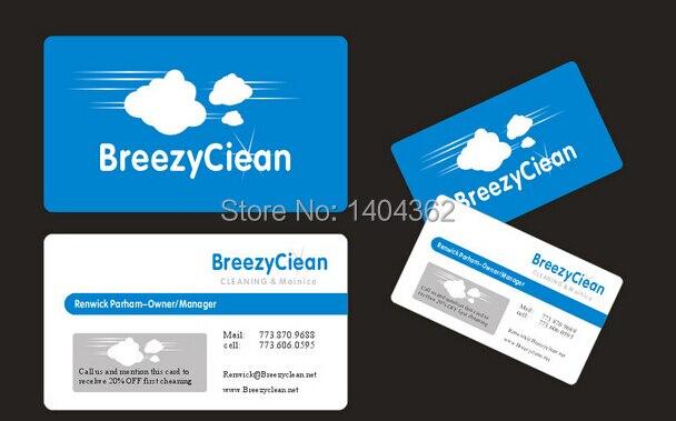 1000pcslot Paper Business Card High Grade Business Card 300gsm