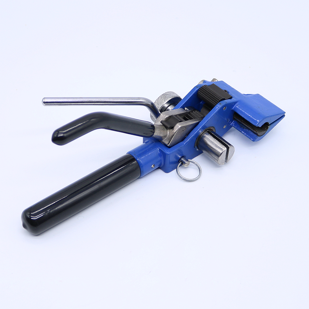 Stainless Steel Cable Tie Baler Fasten Tool Pliers Crimper Tensioner Cutter Tool cable tie fasten tensioning tool for stainless steel ls 600r 2 4 9mm stainless steel cable tie tool