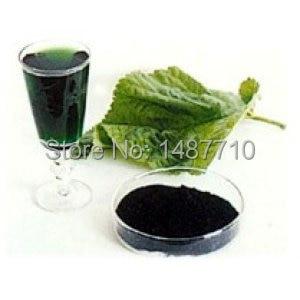 100% Naturaleza clorofila pegar 15% extracto de hoja de Morera