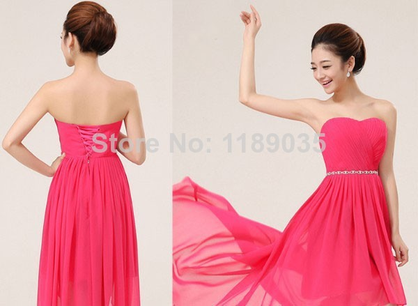 Strapless Short C Bridesmaid Dresses Simple For Wedding Party 2017 Ruffles Off Shoulder Prom Dress In From Weddings Events