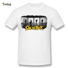 New Streetwear Men's One OK Rock T Shirt 100% Cotton Rock And Roll T-Shirt цена и фото