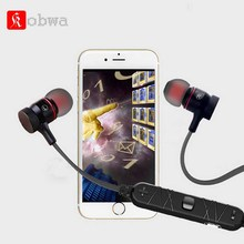 Kobwa Wireless Bluetooth 4.1 Earphone Sports Stereo Earphones in Ear Voice Control Noise Cancelling with Microphone for Phone