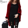 TANGNEST 2016 New Fashion Women Casual Knitted Sweater Long Sleeve Coat Jacket Outwear Tops Cardigan Female WZL626