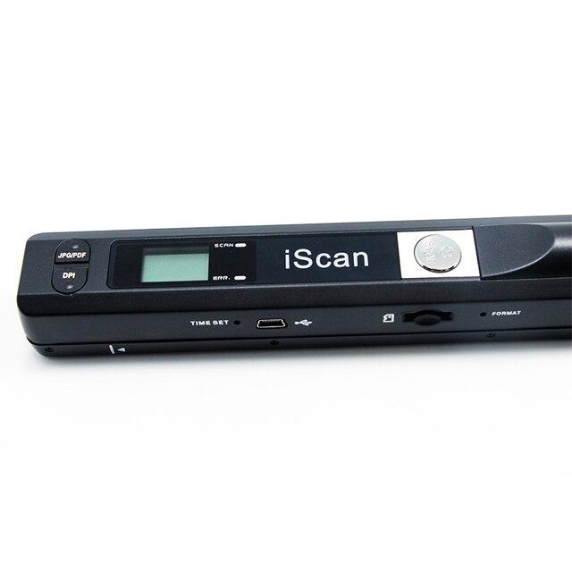 صفر المسافة المحمولة ماسح ضوئي يدوي ل iscan 02A HD مكتب عالية السرعة اللون A4 وثيقة/صور/كتاب وثيقة المسح الضوئي