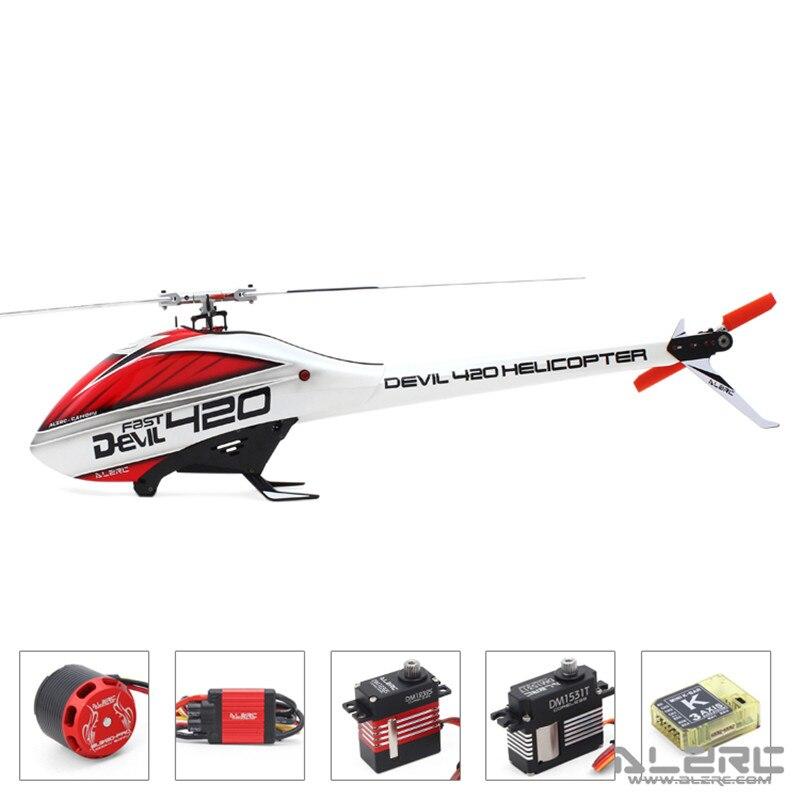 ALZRC-diable 420 rapide FBL Super Combo 420 hélicoptère RC-argent-Standard