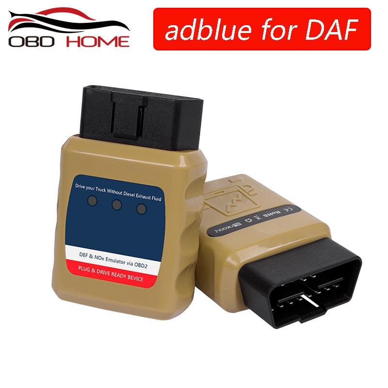 AdblueOBD2ADBLUE 9 w 1 dla ciężarówki VOLVO Emulator Adblue dla VOLVO Adblue/DEF Nox Emulator przez OBD2 Adblue OBD2 dla DAF