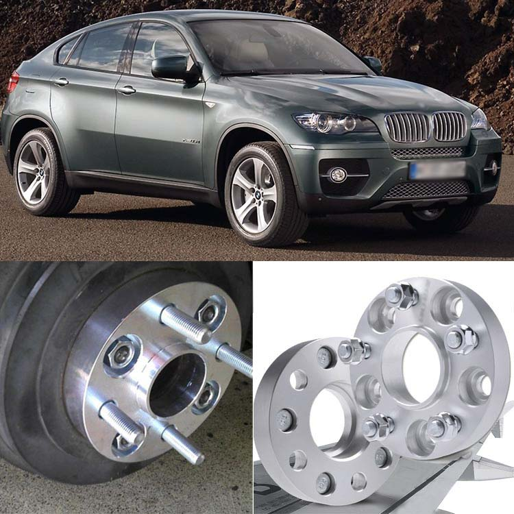 Teeze 4pcs 5X120 74.1CB 25mm Thick Hubcenteric Wheel Spacer Adapters For BMW X5 2007+/ X6 2008+ 4pcs new billet 5 lug 14 1 5 studs wheel spacers adapters for bmw x5 e70 2007 2013