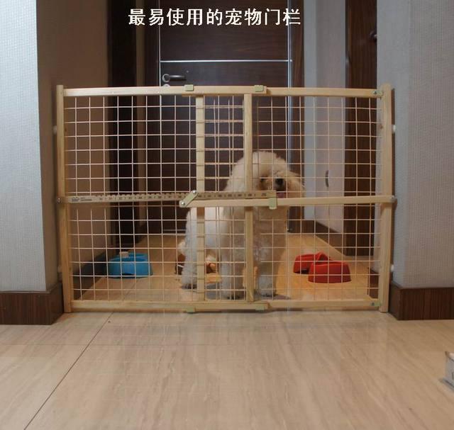 Puerta de madera maciza tipo alargan bebé niño saidsgroupsdirector mascota valla barandilla de la escalera de la válvula de aislamiento