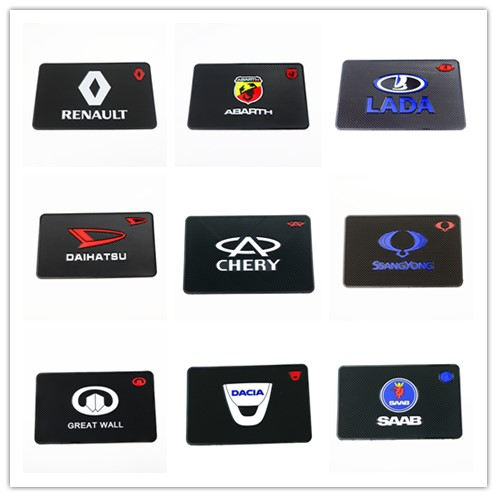 Auto Car-Styling Car Sticker Mat Case For Renault Bmw Audi Opel Skoda Mazda Ford Fiat Seat VOLVO All Cars Accessories