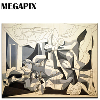 MEGAPIX קיר קישוט בית אמנות פיקאסו פבלו את Charnel