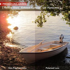 Image 5 - OOWLIT נגד שריטות החלפת עדשות עבור Oakley Hijinx חרוט מקוטב משקפי שמש