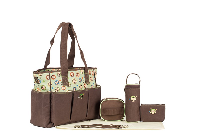 ᐊMás nuevo 7 unids/set multifuncional bebé pañal bolsa impermeable ...