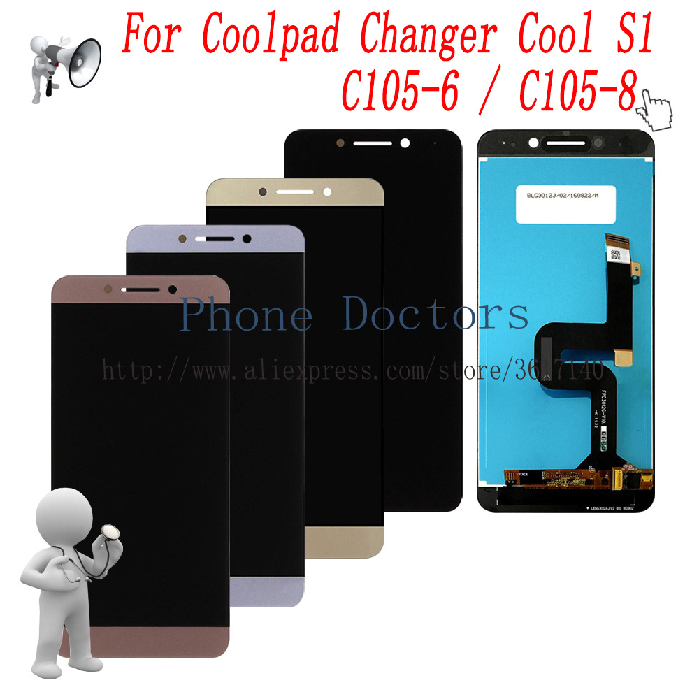 5.5 New Full LCD DIsplay + Touch Screen Digitizer Assembly For LeTV Coolpad Changer Cool S1 C105-6 C105-8 C107-95.5 New Full LCD DIsplay + Touch Screen Digitizer Assembly For LeTV Coolpad Changer Cool S1 C105-6 C105-8 C107-9