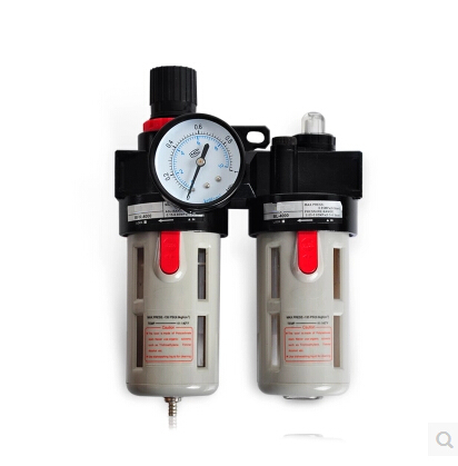 High quality 1/2'' BFC4000 Adjustable Pressure Air Source Treatment Unit,brass filter купить недорого в Москве