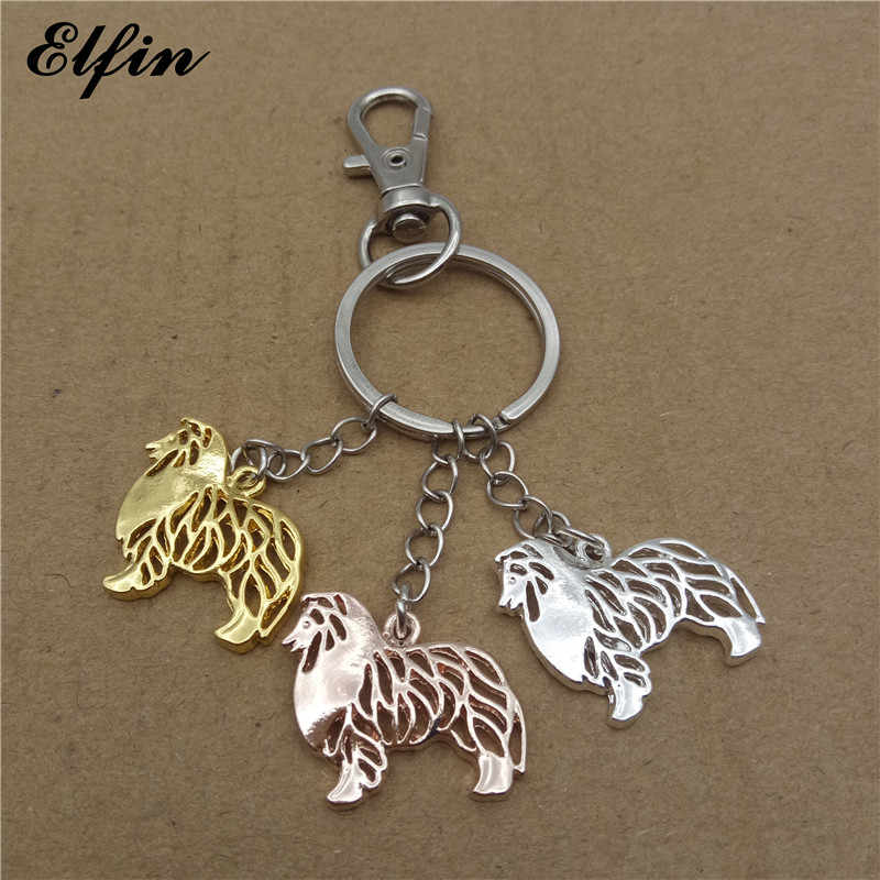 SHELTIE  Key Ring Keychain Key Chain NEW Great gift Dog Pup Pet I Love My