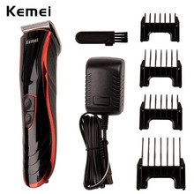 Kemei Quiet Professional Hair Trimmer 100% Waterproof Hair Clipper Electric Cutter Cordless Hair Cutting Machine Baby Haircut