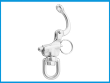 316 Stainless Steel Swivel snap Shackle Quick Release Boat Anchor Chain Eye Shackle Swivel Snap Hook for Marine Architectural
