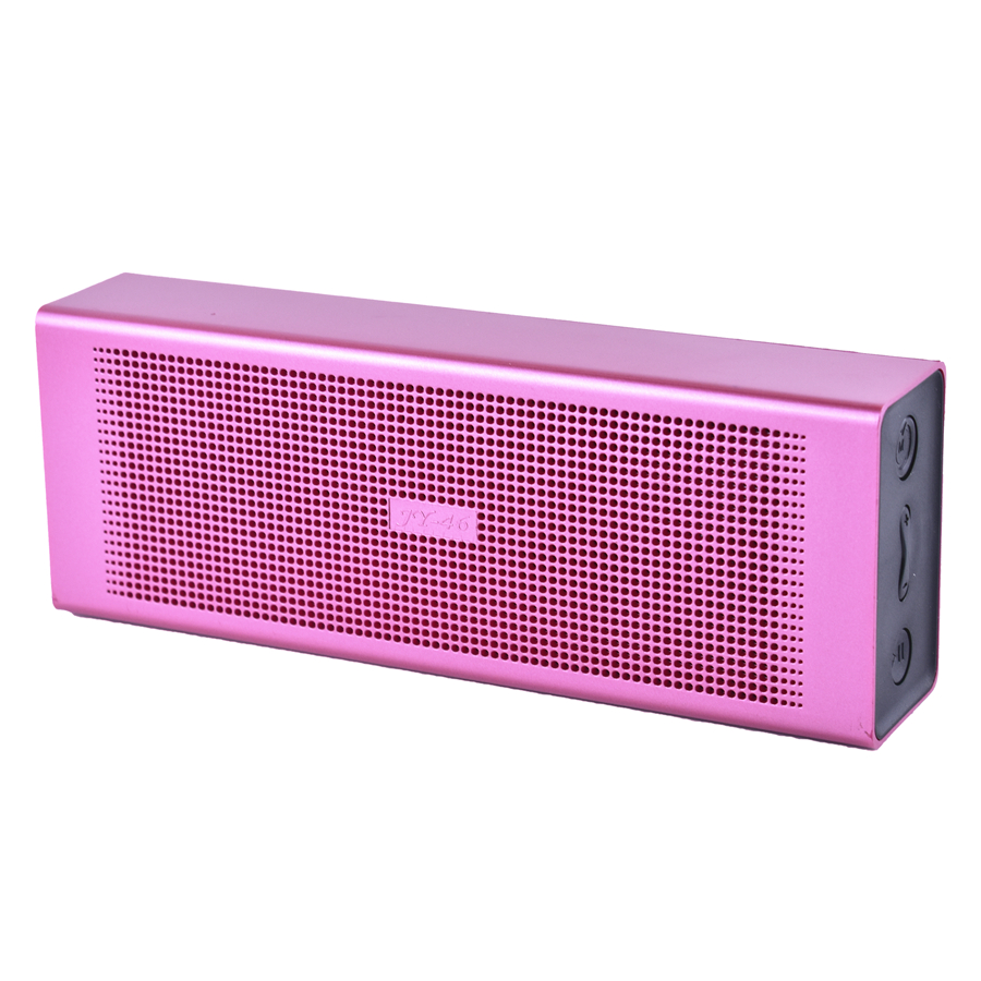 Memories Music pink portable Bluetooth speaker 6W Support TF card AUX FM radio USB for phone