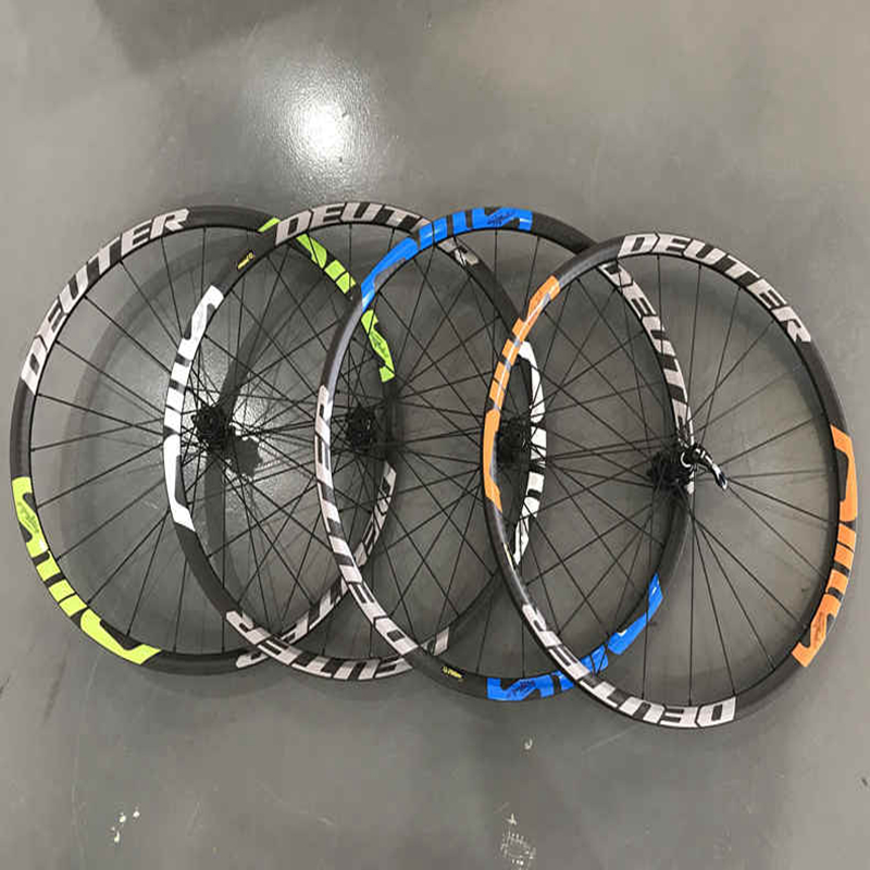 12K Matte Mountainbike 26 / 27.5 ER Carbon Wheels Ultra-light CNC MTB Wheelset QR&Thru Axle Wheel 6 Colors Bicycle Accessories light bicycle roda mtb 29 carbon rear wheels