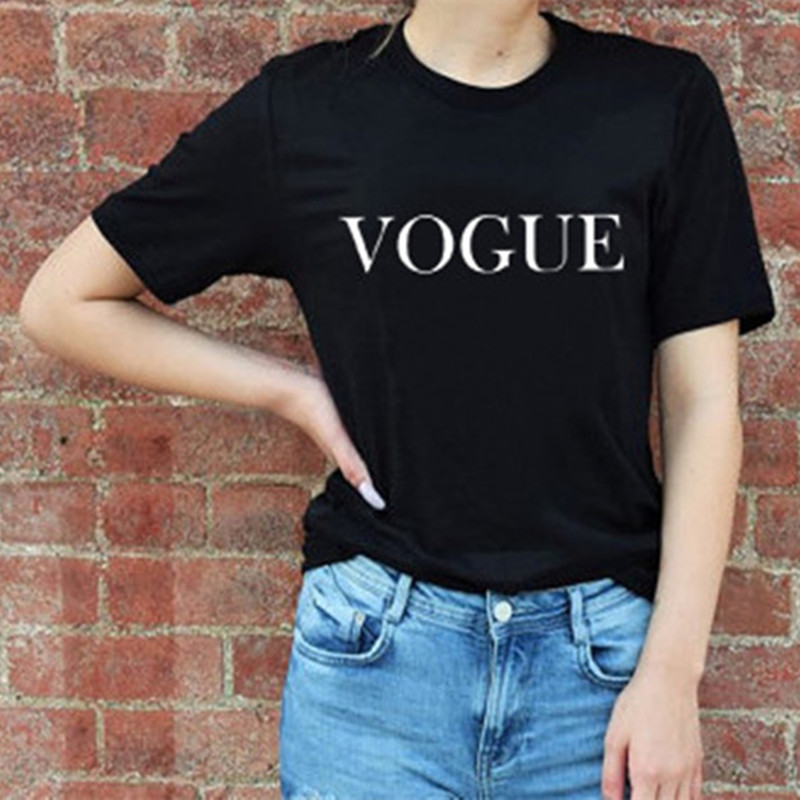 Women's Vogue Printed Cotton T-Shirt 10