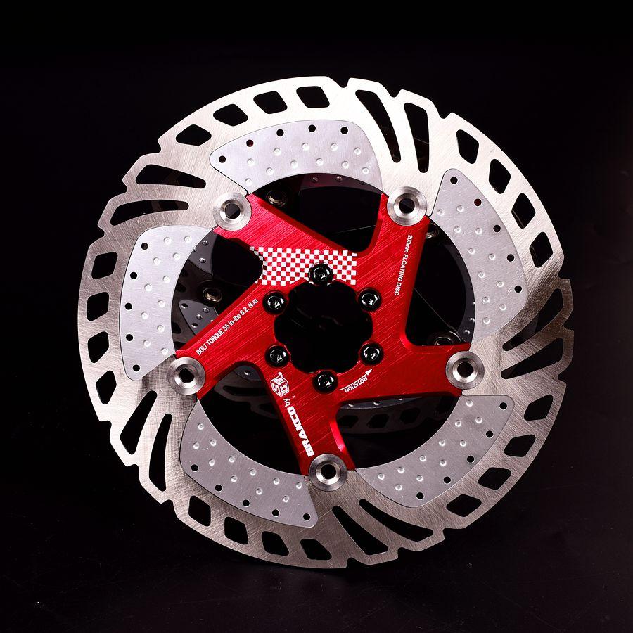 160//180//203mm MTB Bike Disc Brake 6 Bolts Rotor Cycling Rotor Screws T25 12PCS