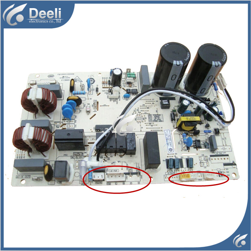 99% new good working for Haier Air conditioning computer board KFR-35W/0523 KFR-35W/0123 0011800208T circuit board 90% new used for air conditioning computer board circuit board kfr 25wx bp1 kfr 25gw bpx2 0600169 good working