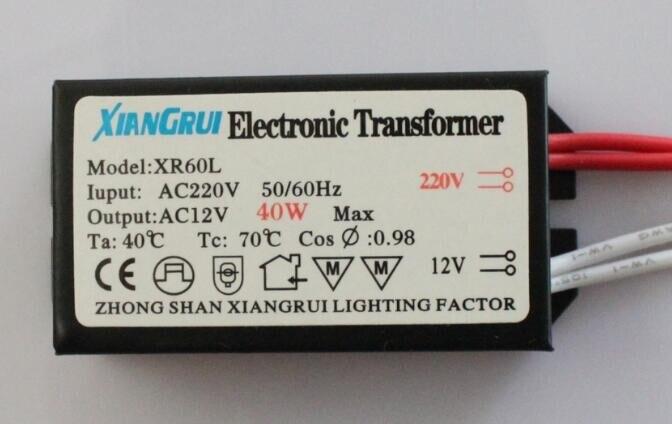 Image 4 - 3 سنوات الضمان جديد 2020 محول إلكتروني المدخلات AC220 الناتج AC12 20W 40W 50W 60W 80W 105W 120W 160W مضمونة 100%electronic transformertransformator electronicelectronic transformer 20w -