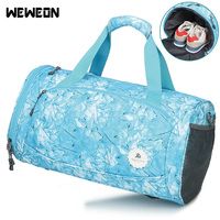 Unisex Sports Bag Fitness Bag Hot Sale Travel Bag Portable Gym Training Bag With Shoes Compartment