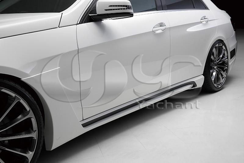 2013-2015 Mercedes Benz W212 E Class Sedan Wald Sports Line Black Bison Edition Style Body Kit FRP (24)