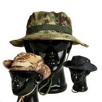 Kamuflaj Taktik Gorras Caps Özel Kuvvetler Askeri Bonnie Şapka SWAT Sniper Hunter Balıkçı Balıkçılık Kova Şapka Orman CS