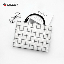 Brand PU Leather Laptop bags for women 13.3 14 15.4 15.6 inch waterproof for macbook air 13 inch Fashion portable Notebook bag