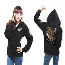 Unisex AOT Hoodie Cosplay Costume Jacket