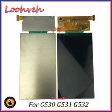 10 قطعة/الوحدة 5.0 عالية الجودة لسامسونج غالاكسي رئيس G530 G531 G532 LCD لوحة استبدال أجزاء شاشة LCD