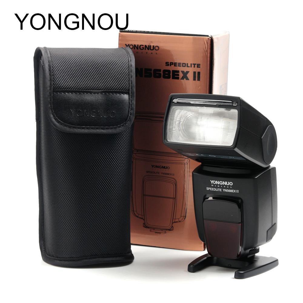 Yongnuo YN-568EX II Master & Slave HSS Wireless TTL Flash Speedlite Suit For Canon 70D 650D 1D series 5DIII 5DII 580EX 430EX II