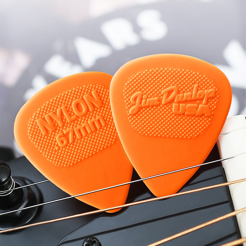Dunlop colorful Guitar Picks Bass Mediator Acoustic Electric Accessories Classic Nylon Guitar Picks 0 53 0 67 0 94 1 07 1 14mm in Guitar Parts Accessories from Sports Entertainment