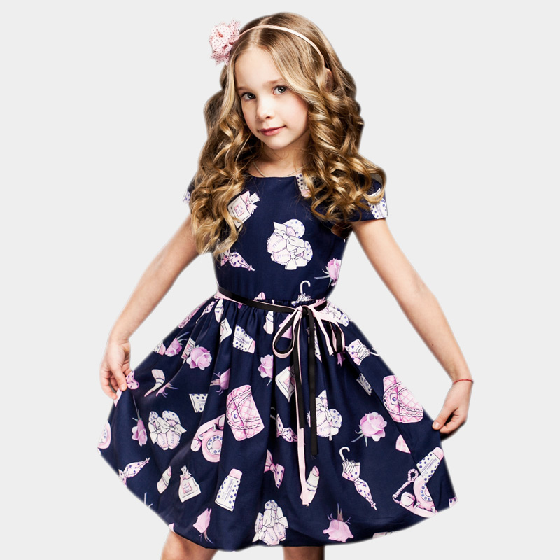 2-8 Jahre Mädchen Sommer Kleid 2019 Kleinkind Mädchen Prinzessin Kleid Für Party Robe Enfant Kinder Kleider Für Mädchen Blume Mädchen Kleider