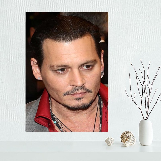 New Products Johnny Depp Wall Art Canvas  5