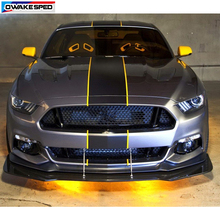 цена на Car Hood Roof Tail Bumper Decor Sticker Racing Line Vinyl Decal Auto Body Customized Stickers For Ford Mustang GT