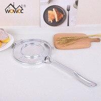 WOWCC Aluminium Tortilla Maker Press Heavy Duty Meat Press Foldable Bakeware Kitchen Accessories Tools Silver/Orange Pie Tools