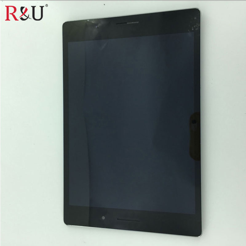 Used Parts TC079GFL06 LCD Display Touch Screen Digitizer Assembly + frame For ASUS ZenPad S 8.0 Z580 Z580C Z580CA 2.3cm cable asus original lcd display touch screen assembly replacement parts for asus fonepad 7 fe375 fe375cg me375 lcd screen with frame