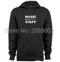 De muziek Personeel Mens & Womens Custom Hoodies