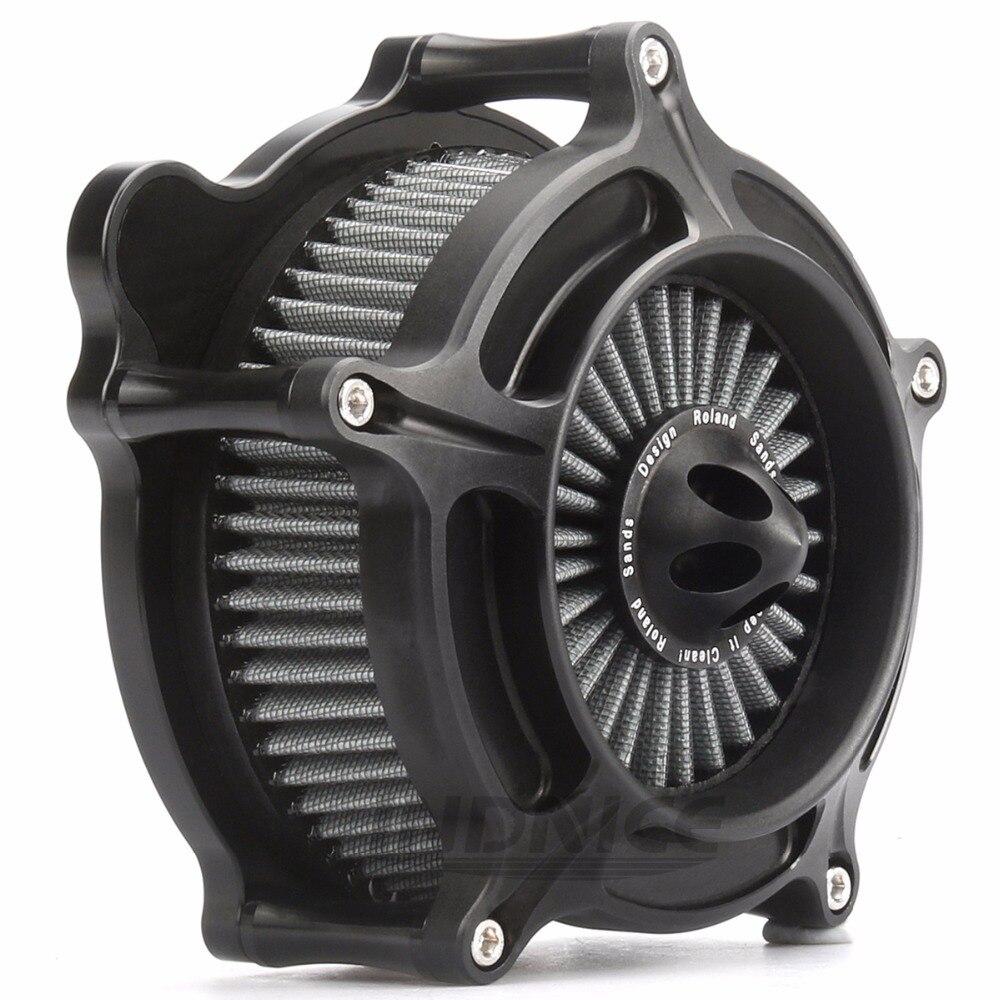 Air Intake Cleaner Filtre Système pour Harley Softail Heritage Springer filtre à air Dyna Wide Glide Breakout Deluxe filtre 93- 15