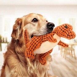 Petalk vários cães de estimação brinquedo filhote de cachorro de estimação mastigar squeaky pelúcia veludo som brinquedos para cachorro