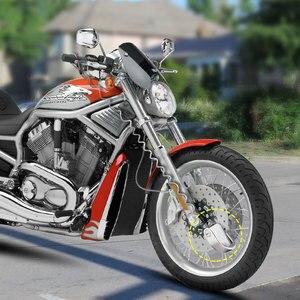 Image 5 - Nordson motocykl blokada alarmu motocykl zabezpieczenie przed kradzieżą koło hamulec tarczowy bezpieczeństwo blokada syreny bezpieczeństwa dla Suzuki Kawasaki BMW