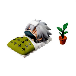 Image 3 - 1 pcs Cartoon נארוטו קאקאשי 6 סוגים של סגנון חמוד Ninja PVC דגם אנימה אוסף פסל איור קיד מתנת צעצוע
