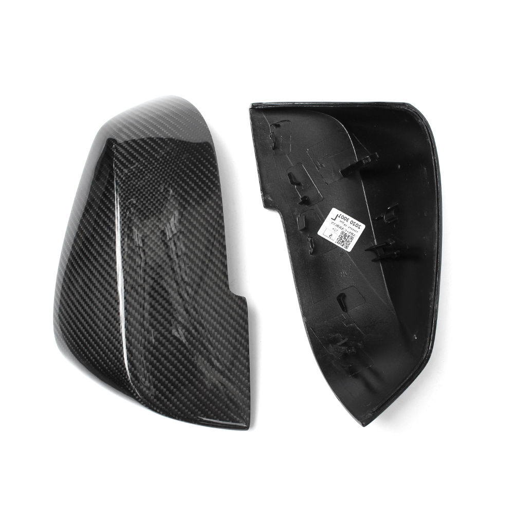 Replacement F10 F30 Carbon Fiber Mirror Covers For BMW 1-7 Series F20 F22 F31 F35 GT F34 F32 F33 F36 X1 E84 F10 GT F07 F06 F12 awo 400 0401 00 projector lamp with housing for projection design f1 sx f1 sxga f10 1080 f10 as3d f10 wuxga f12 1080 f12 sx