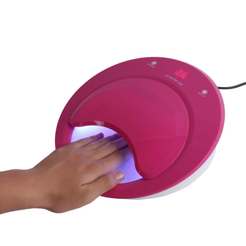 Ausdrucksvoll 40 Watt Uv Led Lampen Gel Nagellack Led Nagel Lampe Trockner 30 S 60 S 90 S Timer Für 100 V-240v Aushärtung Nägel Led Lampen Kreative Clamshell Nails Art & Werkzeuge